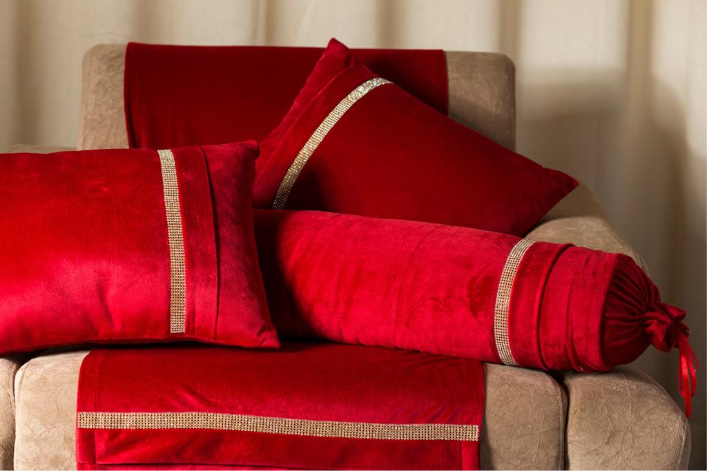 Almofadas- Vermelhas